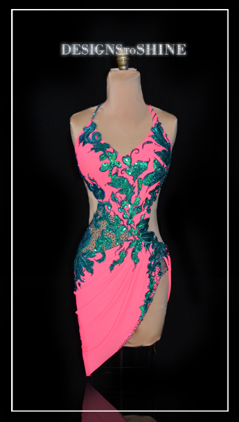 latin-dancewear-Mermaids-Seaweeds-L16218