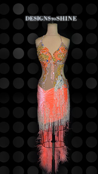 latin-dancewear-Valencia-Orange-L14312