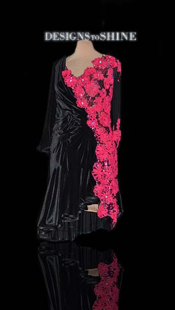 latin-dancewear-Velvet-Rose-L11434