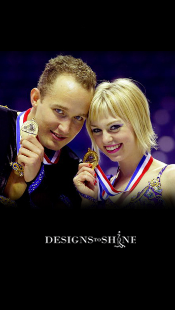 Caydee Denney and Jeremy Barrett are the 2010 US Pair Skating Champions
