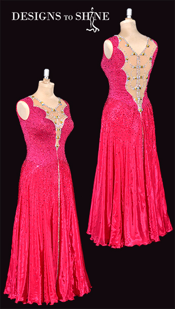 ballroom-gowns-royal-raspberry-B19158