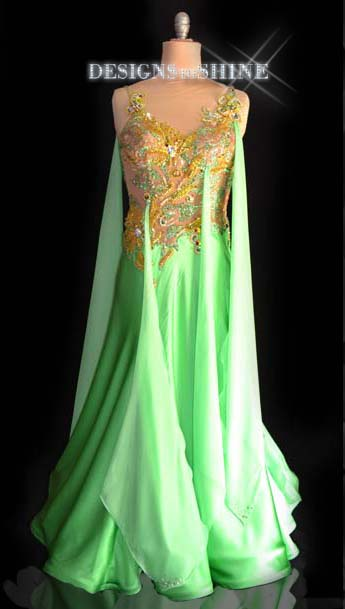 ballroom-gowns-Green-Apple-Temptation-B16345