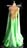 Green style Ballroom Gowns
