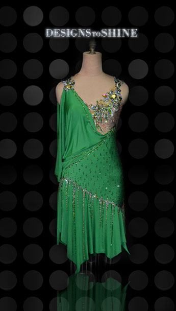 latin-dancewear-Green-Day-L15120