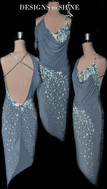 latin-dancewear-Gray-Swan-L16018