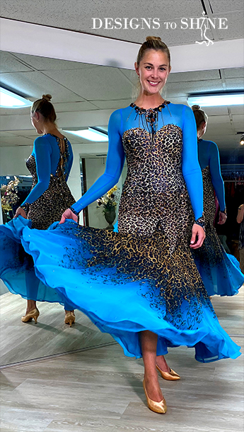 ballroom-gowns-miami-feline-B17226-front